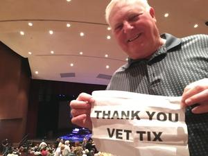 Neil attended Stormy Weather: the Story of Lena Horne on Mar 25th 2017 via VetTix