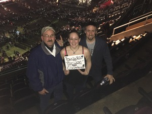 Timothy attended Bon Jovi - This House Is Not for Sale Tour on Mar 19th 2017 via VetTix
