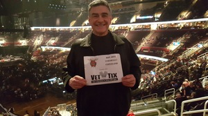 George attended Bon Jovi - This House Is Not for Sale Tour on Mar 19th 2017 via VetTix