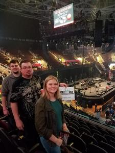 robert attended Bon Jovi - This House Is Not for Sale Tour on Mar 19th 2017 via VetTix