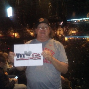 David attended Bon Jovi - This House Is Not for Sale Tour on Mar 19th 2017 via VetTix
