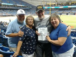 William attended Tampa Bay Rays vs. Cleveland Indians - MLB on Aug 10th 2017 via VetTix