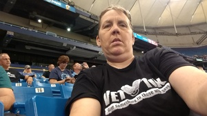 Joanne attended Tampa Bay Rays vs. Cleveland Indians - MLB on Aug 10th 2017 via VetTix