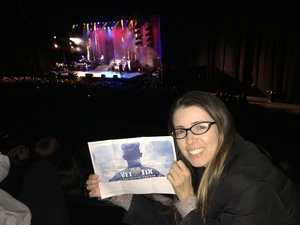 Alberto attended Idina Menzel - 2017 World Tour on Apr 7th 2017 via VetTix
