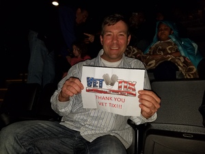 Joseph attended Idina Menzel - 2017 World Tour on Apr 7th 2017 via VetTix