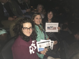 CindyEW attended Idina Menzel - 2017 World Tour on Apr 7th 2017 via VetTix