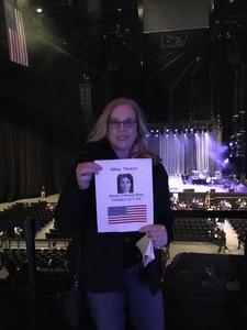 Gene & Jan attended Idina Menzel - 2017 World Tour on Apr 7th 2017 via VetTix