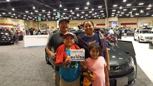 Joliviette attended 2017 New Mexico International Auto Show on Apr 21st 2017 via VetTix