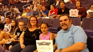 Travis attended Phoenix Suns vs. Los Angeles Clippers - NBA on Mar 30th 2017 via VetTix