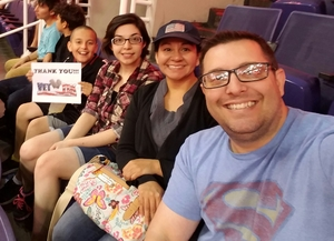 Jason attended Phoenix Suns vs. Los Angeles Clippers - NBA on Mar 30th 2017 via VetTix