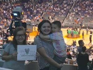 Glenn attended Phoenix Suns vs. Los Angeles Clippers - NBA on Mar 30th 2017 via VetTix