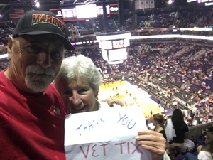 Al attended Phoenix Suns vs. Los Angeles Clippers - NBA on Mar 30th 2017 via VetTix