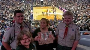Kristi attended Phoenix Suns vs. Los Angeles Clippers - NBA on Mar 30th 2017 via VetTix