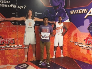 Christina attended Phoenix Suns vs. Los Angeles Clippers - NBA on Mar 30th 2017 via VetTix