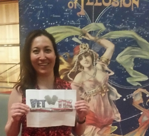 Kimberly attended Carnival of Illusion - Friday on Mar 24th 2017 via VetTix