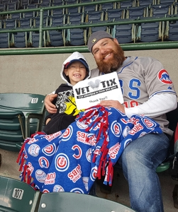 Jim attended Chicago Cubs vs. Milwaukee Brewers - MLB on Apr 19th 2017 via VetTix