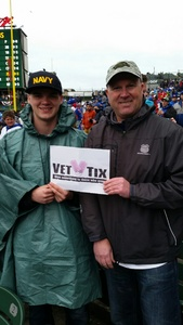 Malcolm attended Chicago Cubs vs. Milwaukee Brewers - MLB on Apr 19th 2017 via VetTix