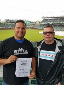 Thomas attended Chicago Cubs vs. Milwaukee Brewers - MLB on Apr 19th 2017 via VetTix
