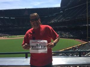 KEVIN attended Arizona Diamondbacks vs. Cleveland Indians - MLB on Apr 9th 2017 via VetTix