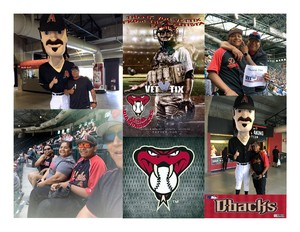 Earl attended Arizona Diamondbacks vs. Cleveland Indians - MLB on Apr 9th 2017 via VetTix