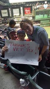 Shawn attended Arizona Diamondbacks vs. Cleveland Indians - MLB on Apr 9th 2017 via VetTix