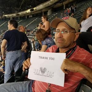 enrique attended Arizona Diamondbacks vs. Cleveland Indians - MLB on Apr 7th 2017 via VetTix