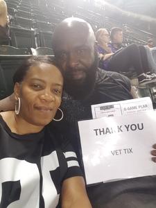 Felix attended Arizona Diamondbacks vs. Cleveland Indians - MLB on Apr 7th 2017 via VetTix