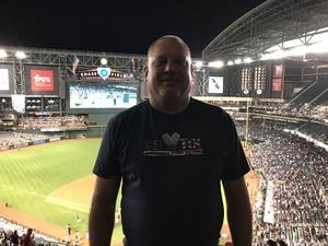 Mark attended Arizona Diamondbacks vs. Cleveland Indians - MLB on Apr 7th 2017 via VetTix