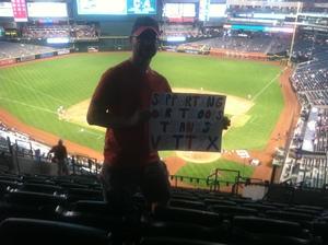 Kenneth attended Arizona Diamondbacks vs. Cleveland Indians - MLB on Apr 7th 2017 via VetTix