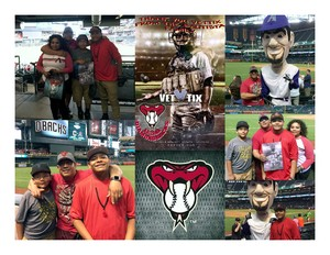 Earl attended Arizona Diamondbacks vs. Cleveland Indians - MLB on Apr 7th 2017 via VetTix