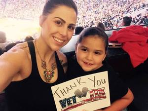 Jessica attended Arizona Diamondbacks vs. Cleveland Indians - MLB on Apr 7th 2017 via VetTix