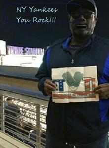 Rudolph attended New York Yankees vs. Chicago White Sox - MLB on Apr 17th 2017 via VetTix