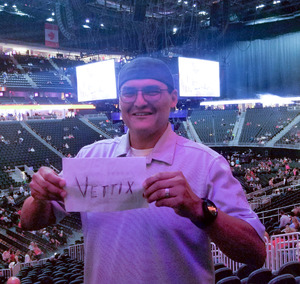 Dino attended George Strait - Strait to Vegas With Special Guest Cam - Friday on Apr 7th 2017 via VetTix