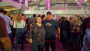 Thomas attended George Strait - Strait to Vegas With Special Guest Cam - Friday on Apr 7th 2017 via VetTix