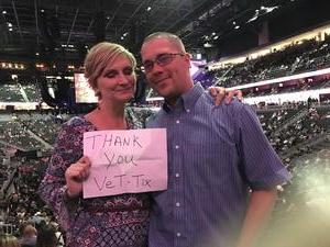 Janice attended George Strait - Strait to Vegas With Special Guest Cam - Friday on Apr 7th 2017 via VetTix
