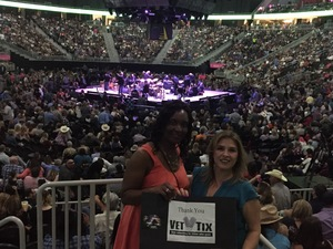 Martha attended George Strait - Strait to Vegas With Special Guest Cam - Saturday on Apr 8th 2017 via VetTix