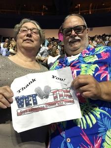 Raymond attended George Strait - Strait to Vegas With Special Guest Cam - Saturday on Apr 8th 2017 via VetTix