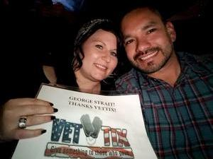 Lucas attended George Strait - Strait to Vegas With Special Guest Cam - Saturday on Apr 8th 2017 via VetTix