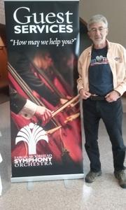 Robert attended Masterworks V - the Rite of Spring - Presented by the Fargo Moorhead Symphony Orchestra on Apr 23rd 2017 via VetTix