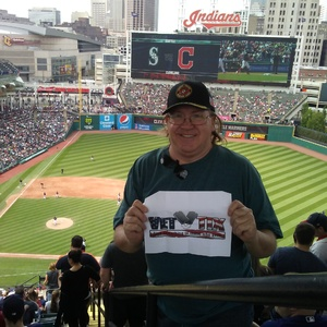 David attended Cleveland Indians vs. Seattle Mariners - MLB on Apr 30th 2017 via VetTix