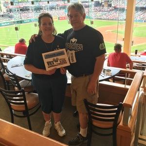 Jackie attended Cleveland Indians vs. Kansas City Royals - MLB on May 28th 2017 via VetTix
