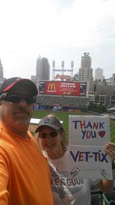 Timothy attended Cleveland Indians vs. Kansas City Royals - MLB on May 28th 2017 via VetTix