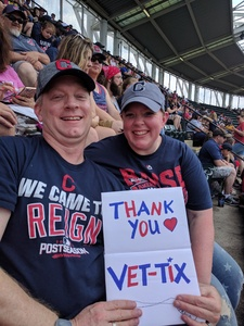 Mike attended Cleveland Indians vs. Kansas City Royals - MLB on May 28th 2017 via VetTix
