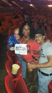 Glen attended Chris Brown the Party Tour With Fabolous, O.t Genasis and Kap G on Apr 15th 2017 via VetTix