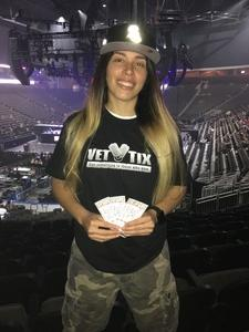 Jess attended Chris Brown the Party Tour With Fabolous, O.t Genasis and Kap G on Apr 18th 2017 via VetTix
