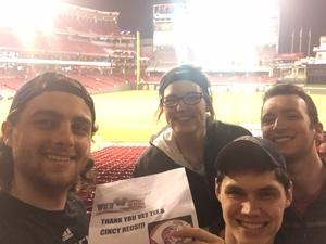 Joe C attended Cincinnati Reds vs. Baltimore Orioles - MLB on Apr 20th 2017 via VetTix