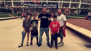 Joshua attended Cincinnati Reds vs. Baltimore Orioles - MLB on Apr 20th 2017 via VetTix