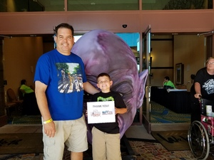 Travis attended Mad Monster Party - Sunday on May 21st 2017 via VetTix