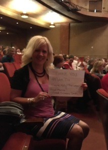 Victoria attended Gene Kelly - the Legacy on Apr 15th 2017 via VetTix
