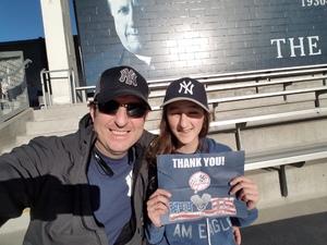 Kenneth attended New York Yankees vs. Toronto Blue Jays - MLB on May 3rd 2017 via VetTix